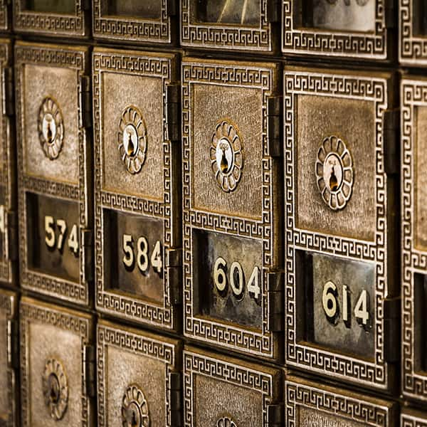 Numbered boxes detail, Tim Evans on Unsplash